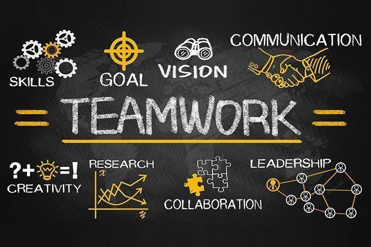 Teamwork ganz individuell: <br>das geht…