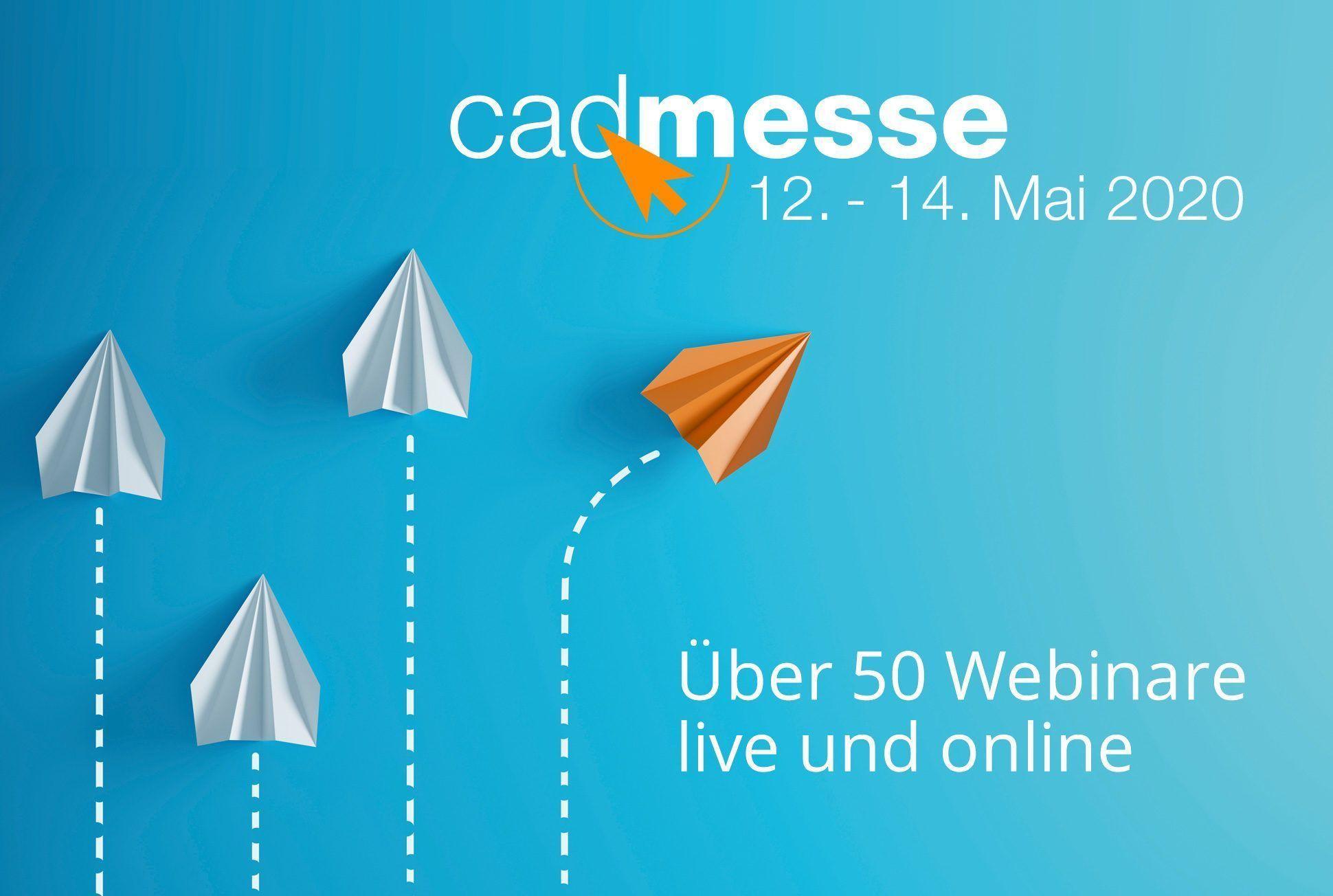 cadmesse 2020 – jetzt online!