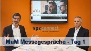 sps connect 2020: Messegespräch mit MuM – Tag 1