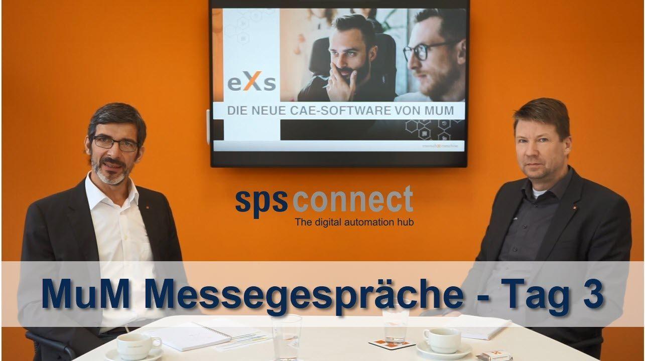 sps connect 2020: Messegespräch mit MuM – Tag 3